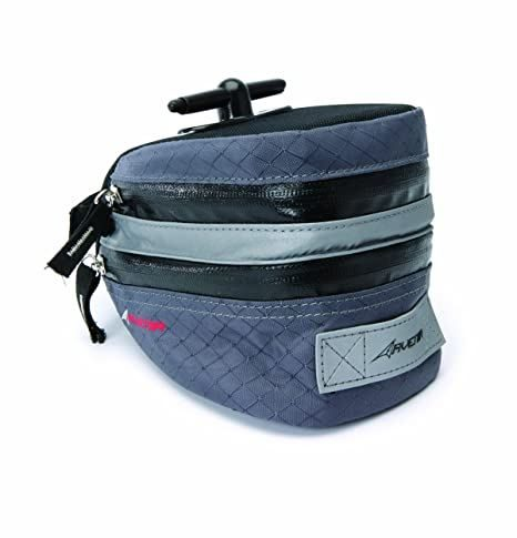 Avenir Expanding Saddle Bag/Tool Kit - Black