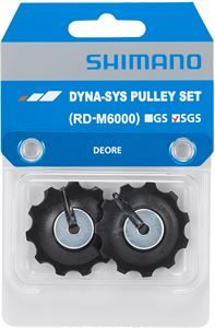 Shimano Deore RD-M6000 tension & pulley set, SGS