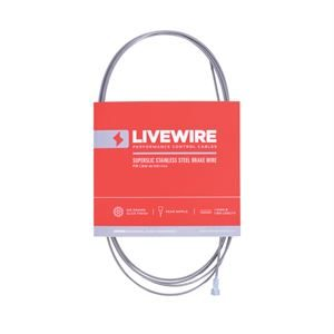 LiveWire SuperSlic S/Steel Brake Inner Wire 1.5mm x 1.8m