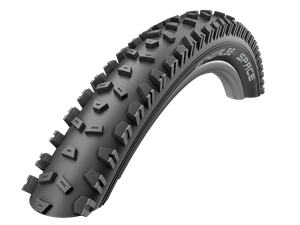 26x2.35 Schwalbe Space Wired Black Tyre