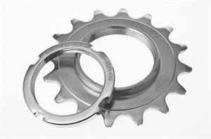 Raleigh 16T Fixed Track Sprocket & Lockring