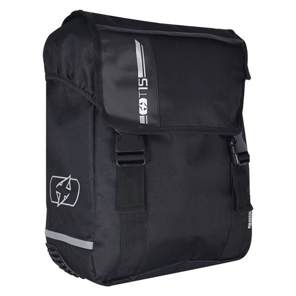 Oxford T15 Q/r Pannier Bag 15 Litres Black