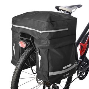 Oxford C35 Triple Pannier Bag 35 Litres 1 Piece Black
