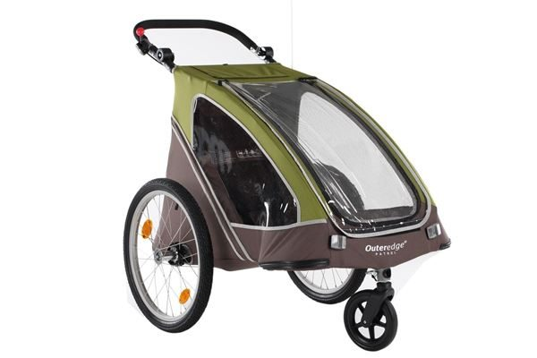 Outeredge Patrol Single Stroller Cycle Trailer