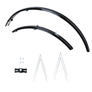 Oxford 700c/27'' Std Narrow 31mm Mudguards Black