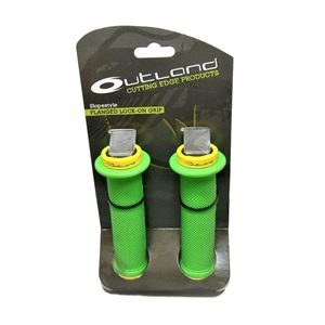 Outland Slopestyle Lock-On Grip Green