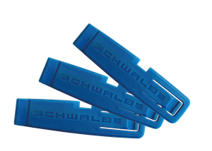 Schwalbe Plastic Tyre Levers Blue (Set of 3)