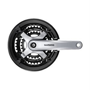Shimano TY701 42/34/24t 170mm Chainset with Chaingaurd