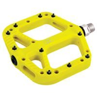 Oxford Loam 20 Nylon Flat Pedals Yellow