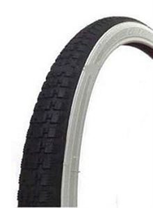 26x1 3/8 Raleigh Record White Wall Tyre