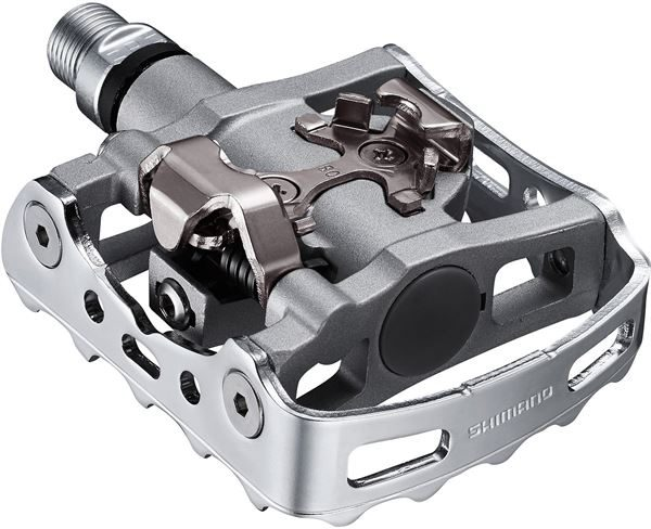 Shimano M324 SPD One-Sided Pedal Silver