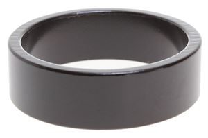 """1.5"""" Ahead Spacer Washer 10mm Black"""