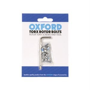 Oxford Disc Rotor Torx Bolts and Tool