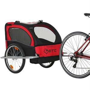 ETC Doppio 1 or 2 Children Cycle Trailer