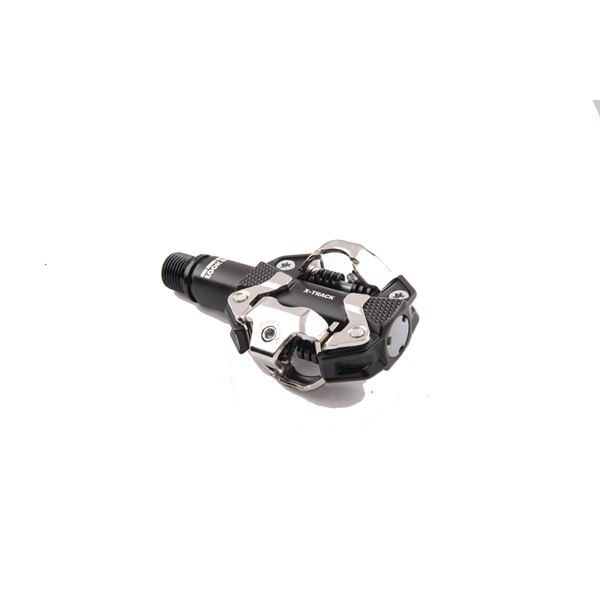 Look X-Track MTB Pedals Grey with Cleats