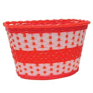 Oxford Junior Woven Basket - Red