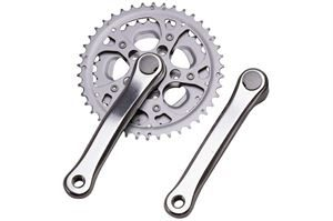 Raleigh 52/42/32t 170mm Road Alloy Chainset Silver