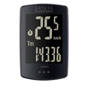 Cateye Padrone Stealth Wireless Cycle Computer
