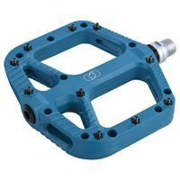 Oxford Loam 20 Nylon Flat Pedals Blue