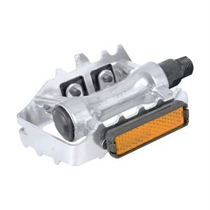 Oxford Alloy Low Profile Pedals 9/16'' - Silver