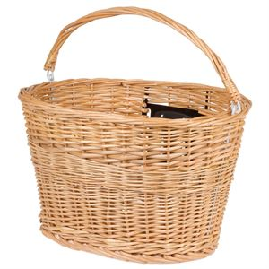 M-Wave Clip On Wicker Basket with Handle