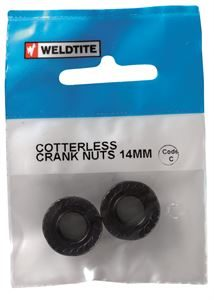 08030 cotterless crank nuts 14mm