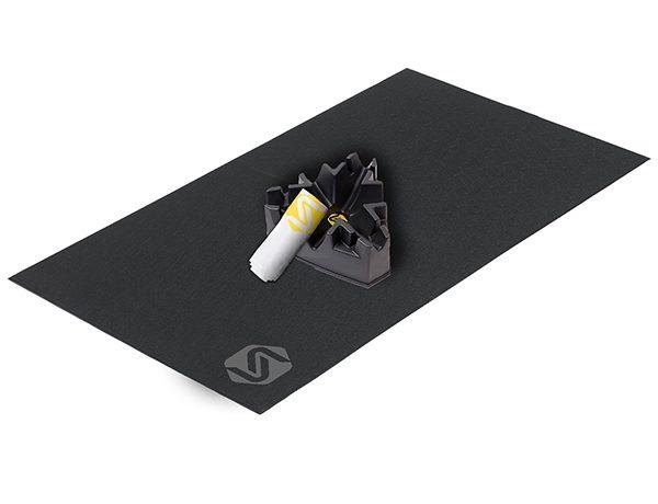 SARIS Accessory Kit- Matt, Climbing Block & Towel