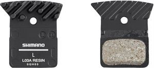 Shimano L03A Resin Disc Pads With Cooling Fin